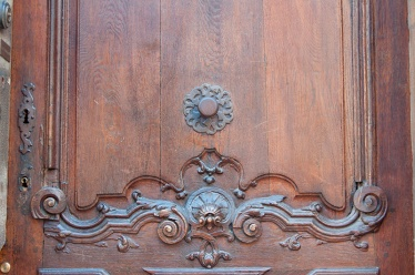 middle age door detail