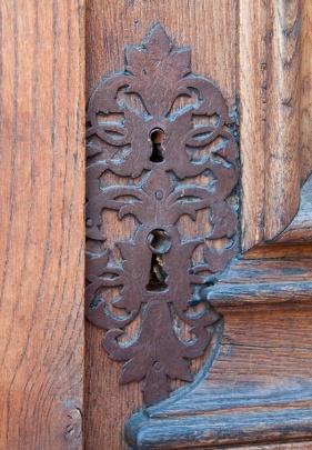 middle age door detail