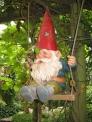 gnome having fun