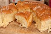 Semur en Auxois fête médiévale - brioche
